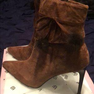 Sassy Brown Booties
